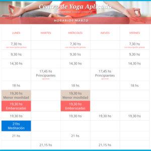 yoga parana horarios