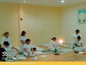 Taller en el Centro de Yoga Aplicada