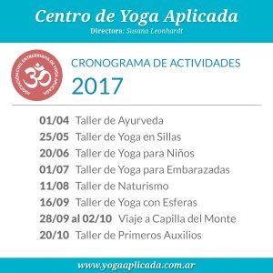 actividades yoga 2017