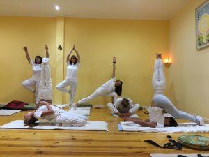 egresadas del Profesorado de Yoga - 2018
