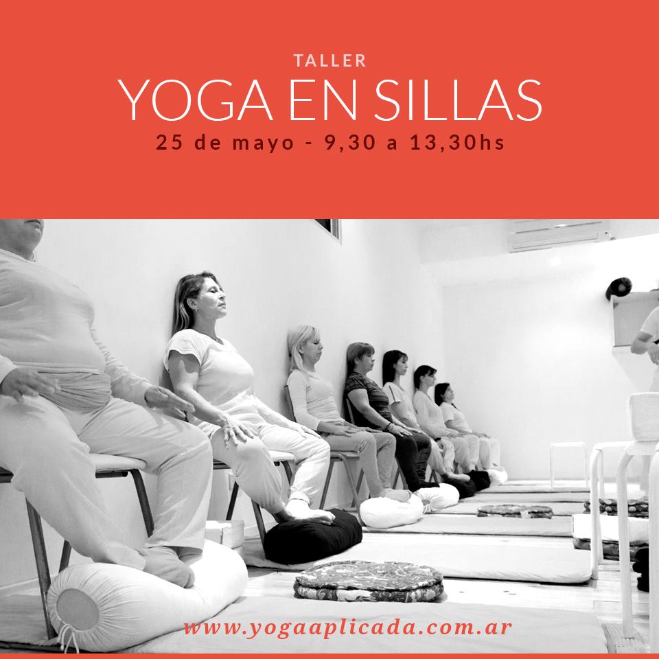 taller yoga en sillas