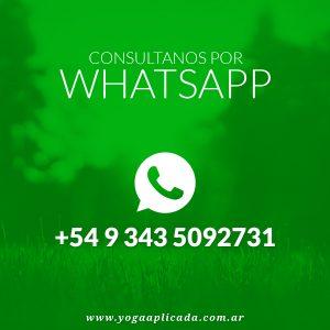 Whatsapp Yoga Aplicada