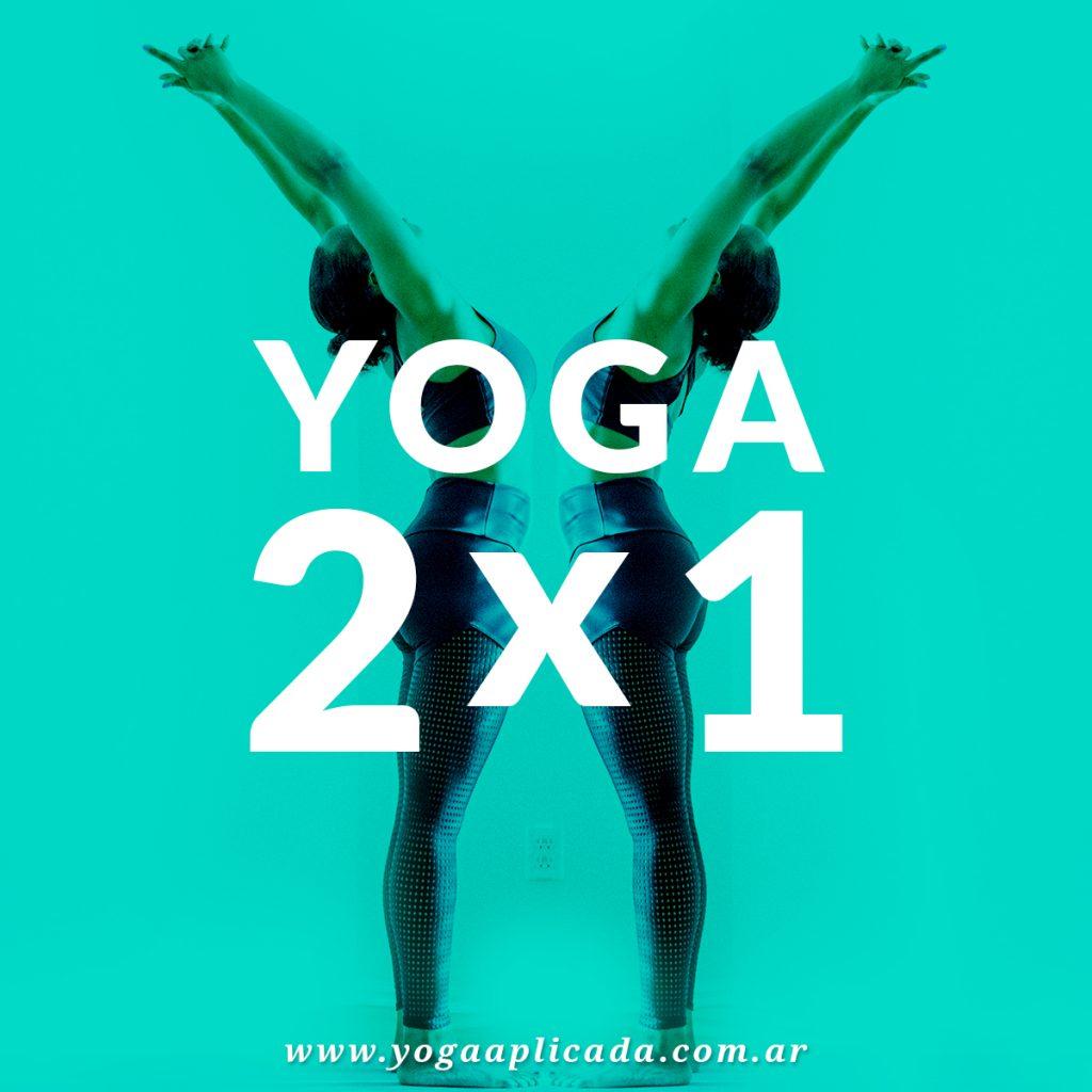 2x1 de yoga en agosto